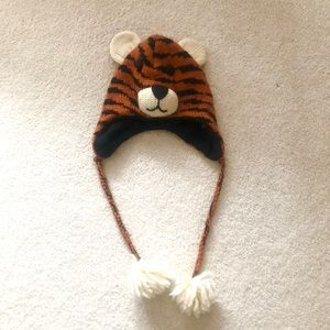 tiger winter hat